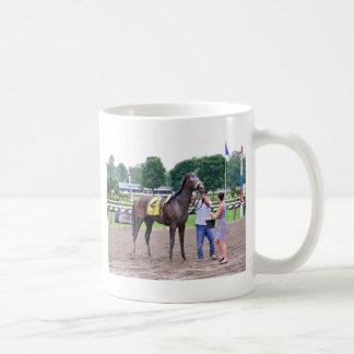 Big Trouble wins the 100th Sanford Stakes Coffee Mug