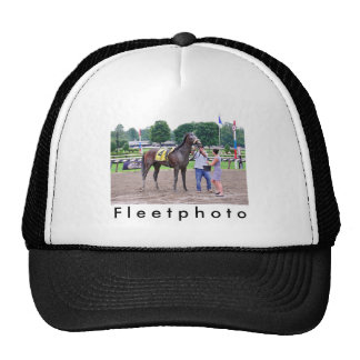 Big Trouble wins the 100th Sanford Stakes Mesh Hats