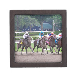 Big Trouble wins the 100th Sanford Stakes Jewelry Box