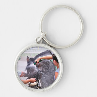 Big Trouble wins the 100th Sanford Stakes Keychains