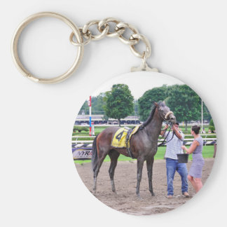 Big Trouble wins the 100th Sanford Stakes Keychain