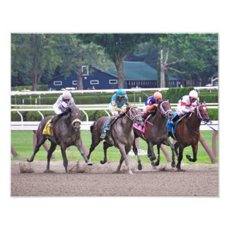 Big Trouble wins the 100th Sanford Stakes Photo Print