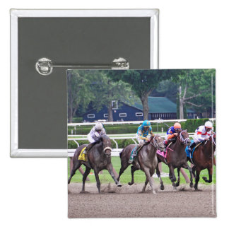 Big Trouble wins the 100th Sanford Stakes Pinback Button