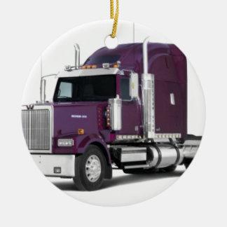 big truck christmas ornaments
