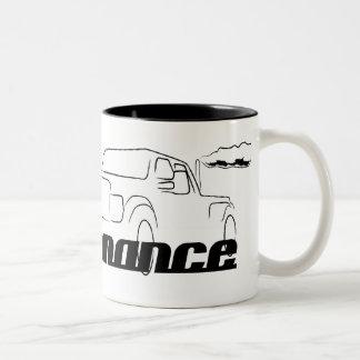 Big Truck Performance Two-Tone Coffee Mug
