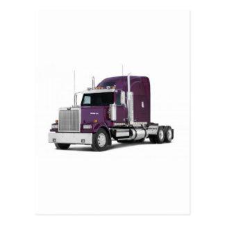 big truck postcard