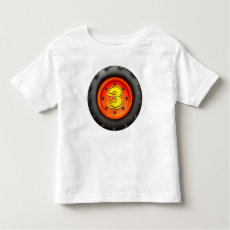 Big Truck Wheel Kids 3rd Birthday Shirt