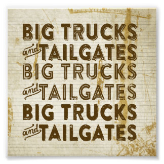 Big Trucks and Tailgates Photo