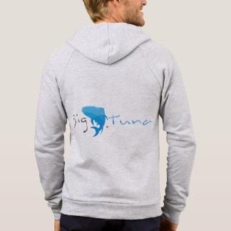 Big Tuna - California Fleece Zip Hoodie, Gray