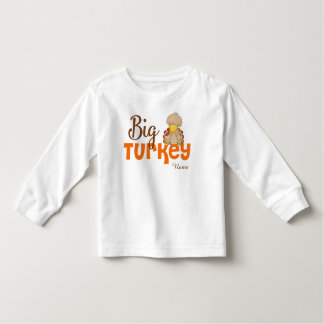 Big Turkey Thanksgiving Personalized T-shirt