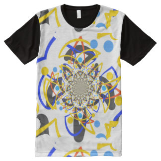Big Twisting horse face All-Over Print Shirt