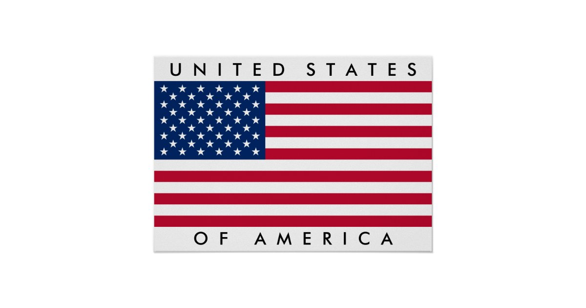 3panel american usa united states of america flag canvas big united states of america flag usa us poster zazzle 308