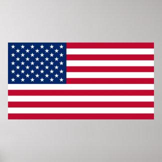 Big United States of America Flag USA US Poster