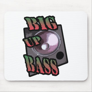 big up bass mouse pad