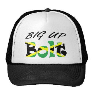 Big Up Bolt Jamaican Flag Hat