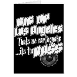 BIG UP Los Angeles Card