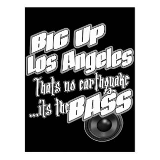 BIG UP Los Angeles Postcard