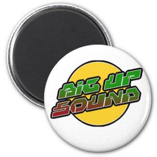 Big up Sound Dub Dubstep Reggae Magnet