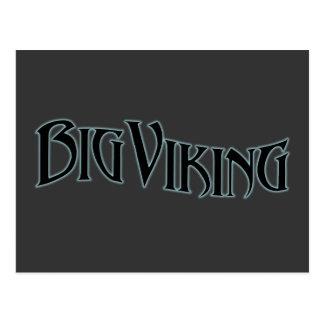 Big Viking Postcard