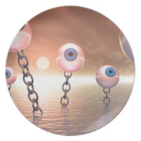 Big Vision And Chains Dinner Plates