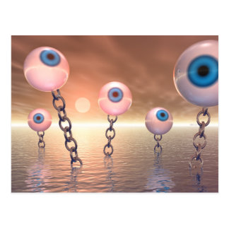 Big Vision And Chains Postcard