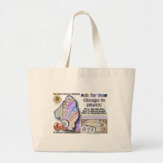 Big Waters Currency Promo Large Tote Bag