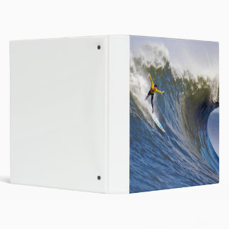Big Wave at the Mavericks Surfing Competition 3 Ring Binder