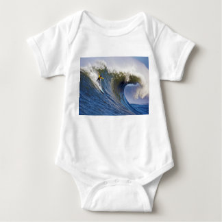 Big Wave at the Mavericks Surfing Competition Baby Bodysuit