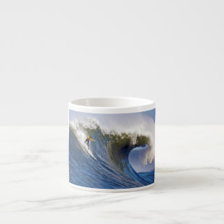 Big Wave at the Mavericks Surfing Competition Espresso Cup