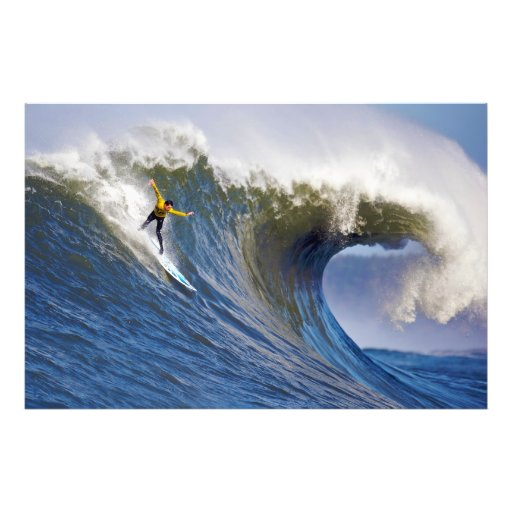 Big Wave at the Mavericks Surfing Competition Photo Print