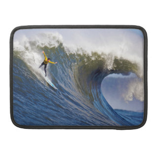 Big Wave at the Mavericks Surfing Competition Sleeve For MacBook Pro