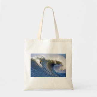 Big Wave at the Mavericks Surfing Competition Tote Bag