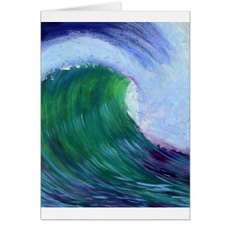 Big wave greeting cards
