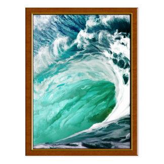 Big Wave Keeps on Rolling Postcard