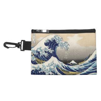 Big Wave off Kanagawa Clip On Accessory Bag