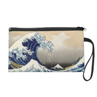 Big Wave off Kanagawa Wristlet