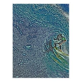 BIG WAVE POSTCARD