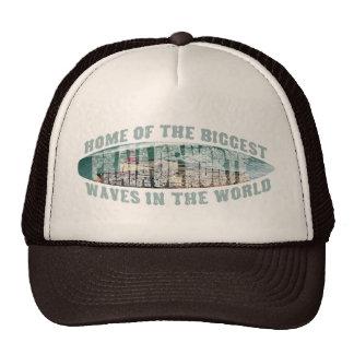 Big wave surfing trucker hats