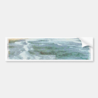 Big waves at Bondi beach Car Bumper Sticker