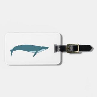 Big whale bag tag