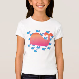 Big Whale, Little Whales T-Shirt