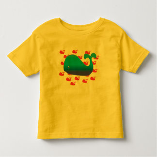 Big Whale, Little Whales Toddler T-shirt