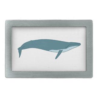 Big whale rectangular belt buckle