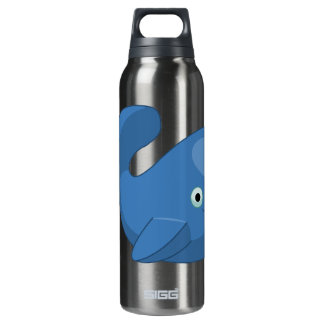 Big Whale Thermos Water Bottle
