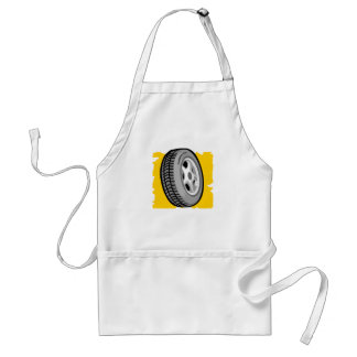 Big Wheel Adult Apron
