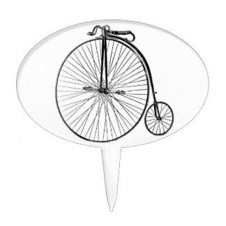 Big Wheel Bicycle Cake Topper