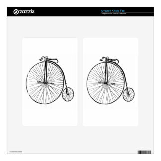 Big Wheel Bicycle Decal For Kindle Fire