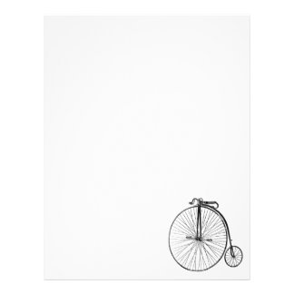 Big Wheel Bicycle Letterhead