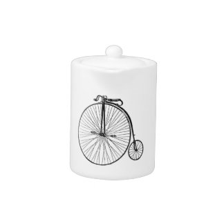 Big Wheel Bicycle Teapot