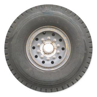 Big Wheel Classic Round Sticker